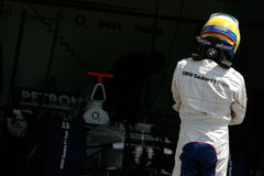 F1 2006 - Nick Heidfeld BMW Sauber Fotografering för Bildbyråer