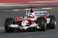 F1 2006 - Olivier Panis Тойота Стоковое Фото