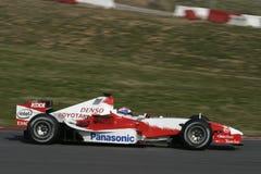 F1 2006 - Olivier Panis Toyota Royaltyfria Bilder