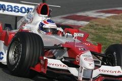 F1 2006 - Olivier Panis Toyota Royaltyfri Foto