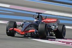 F1 2006 - Pedro de la Rosa McLaren Royalty Free Stock Image