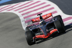 F1 2006 - Pedro de la Rosa McLaren Royalty Free Stock Photo