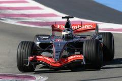 F1 2006 - Pedro de la Rosa McLaren Imagem de Stock