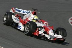 F1 2006 - Ralf Schumacher Тойота Стоковые Фотографии RF