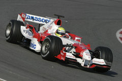 F1 2006 - Ralf Schumacher Toyota Royalty Free Stock Photos