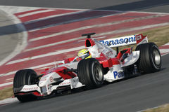 F1 2006 - Ralf Schumacher Toyota Royalty Free Stock Photo