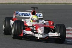 F1 2006 - Ralf Schumacher Toyota Arkivbilder
