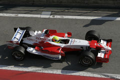 F1 2006 - Ralf Schumacher Toyota Royalty Free Stock Images