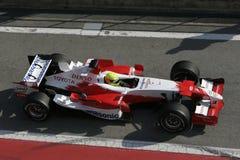 F1 2006 - Ralf Schumacher Toyota Images libres de droits