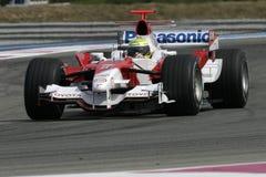F1 2006 - Ralf Schumacher Toyota Royaltyfri Fotografi