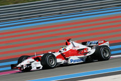 F1 2006 - Ricardo Zonta Toyota Royalty Free Stock Photo