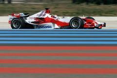 F1 2006 - Ricardo Zonta Toyota Royaltyfria Foton