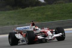 F1 2006 - Ricardo Zonta Toyota Royaltyfri Bild