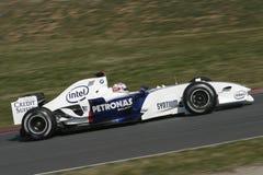 F1 2006 - Robert Kubica BMW Sauber Royaltyfri Fotografi
