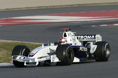 F1 2006 - Robert Kubica BMW Sauber Royalty Free Stock Photo