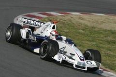 F1 2006 - Robert Kubica BMW Sauber Στοκ Εικόνες