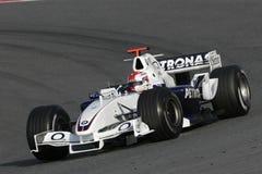 F1 2006 - Robert Kubica BMW Sauber Fotografia de Stock