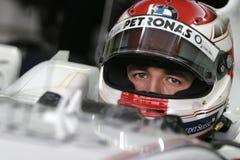 F1 2006 - Roberto Kubica BMW Sauber Fotografía de archivo libre de regalías