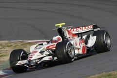 F1 2006 - Rubens Barrichello Honda Royalty Free Stock Images
