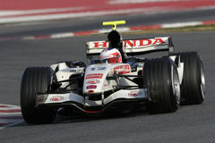 F1 2006 - Rubens Barrichello Honda Fotografia de Stock