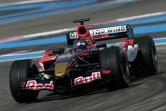 F1 2006 - Scott Speed Toro Rosso Royalty Free Stock Images