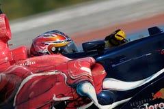 F1 2006 - Vitantonio Liuzzi Toro Rosso Stock Image