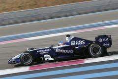 F1 2007 - Александр Wurz Williams Стоковые Изображения