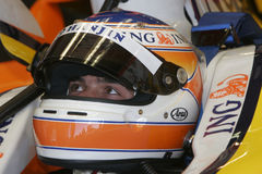 F1 2007 - Нелсон Piquet Renault Стоковое фото RF