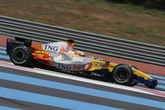 F1 2007 - Нелсон Piquet Renault Стоковые Фотографии RF