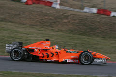 F1 2007 - Adrian Sutil Spyker Stock Photo