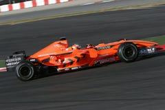 F1 2007 - Adrian Sutil Spyker Lizenzfreie Stockbilder
