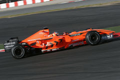 F1 2007 - Adrian Sutil Spyker Imagens de Stock Royalty Free