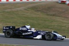 F1 2007 - Alexander Wurz Williams Fotografía de archivo libre de regalías