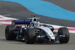 F1 2007 - Alexander Wurz Williams Imagem de Stock