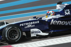 F1 2007 - Alexander Wurz Williams Stock Photos