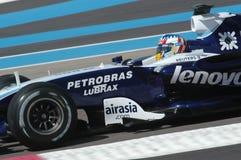 F1 2007 - Alexander Wurz Williams Arkivfoton