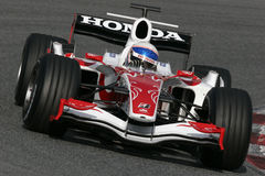 F1 2007 - Anthony Davidson Super Aguri Royalty Free Stock Photo