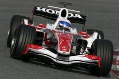 F1 2007 - Anthony Davidson Super Aguri royalty free stock photo