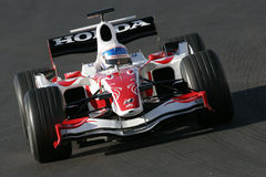 F1 2007 - Anthony Davidson Super Aguri Stock Photos