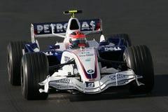 F1 2007 - BMW Sauber de Robert Kubica Photos stock