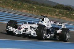 F1 2007 - BMW Sauber Nick Heidfeld Стоковое фото RF