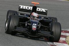 F1 2007 - Christian Klien Honda Royalty Free Stock Photography