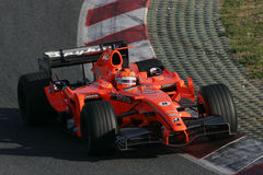 F1 2007 - Christijan Albers Spyker Royalty Free Stock Photo