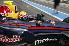 F1 2007 - Contrassegni Webber Red Bull Immagine Stock