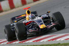 F1 2007 - David Coulthard Red Bull stock photos