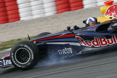 F1 2007 - David Coulthard Red Bull Royalty Free Stock Photo