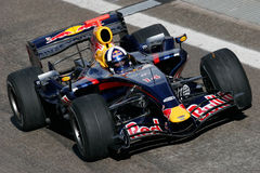 F1 2007 - David Coulthard Red Bull Royalty Free Stock Photography