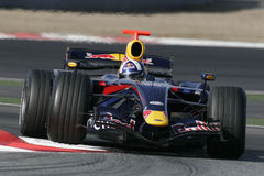 F1 2007 - David Coulthard Red Bull Stock Photography