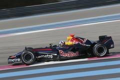 F1 2007 - David Coulthard Red Bull Foto de archivo libre de regalías