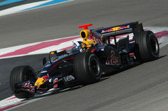 F1 2007 - David Coulthard Red Bull Royalty Free Stock Photos